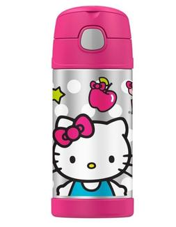 New Thermos Funtainer 12 Ounce Bottle, Hello Kitty Baby Infa