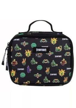 FORTNITE Game Lunch box School Lunch Bag Kit Amplify Black N