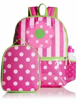 Pink Platinum Girls 16 Inch Backpack with Bonus Lunch Bag an