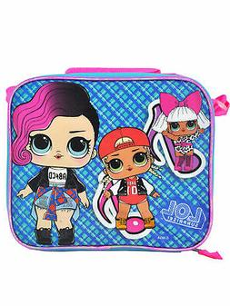 Girls LOL Surprise Insulated Lunch Bag and Shoulder Strap Gl