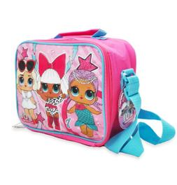 Girls LOL Surprise! Insulated Lunch Bag with Shoulder Strap