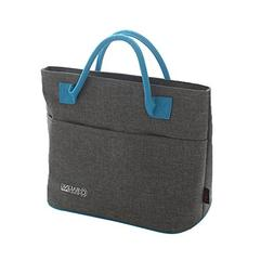 Baling Gray Blue Washable Oxford Cloth Cooler Bag Insulated