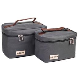 Hango Insulated Lunch Box Cooler Bag , Grey
