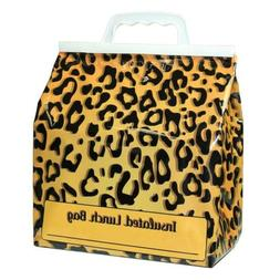 JayBags HB-25 Lunch Reusable Insulated Food Bag, Leopard
