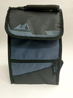 Arctic Zone Hi-Top Power Pack Lunch Bag, Black