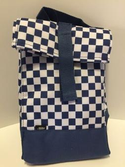 Vans Hot Lunch Bag Keeps Things Cold Blue And White Checker