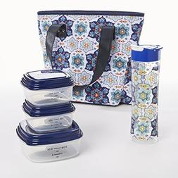 Fit & Fresh Hutchinson Lunch Bag Kit for Women with BPA-free