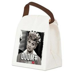 CafePress I Love Lucy #Mood Canvas Lunch Bag with Strap Hand