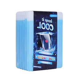 Oicepack Reusable Box, Freezer Ice, Slim Long-Lasting Cool P