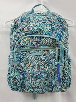 Vera Bradley Iconic Campus Backpack, Signature Cotton, Daisy