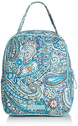 Vera Bradley Iconic Lunch Bunch, Signature Cotton, Daisy Dot