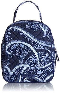 Vera Bradley Iconic Lunch Bunch, Signature Cotton, Indio, On