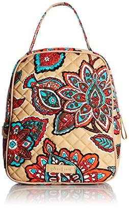 Vera Bradley Iconic Lunch Bunch, Signature Cotton, Desert Fl
