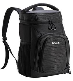 MIER Insulated Cooler Backpack Leakproof Soft Cooler for Lun