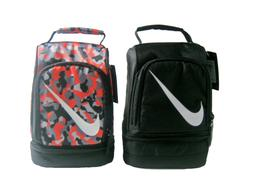 Nike Insulated Dome Lunch Box Tote School Bag Boys Girls Bla