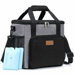 Lifewit Insulated Large Lunch Box Lunch Cooler Bag for Men A