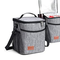 Glotoch Insulated Lunch Box Lunch Bag for Adults Men Women C