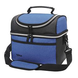 Kato Insulated Lunch Bag, Oxford Cloth Thermos Bento Contain