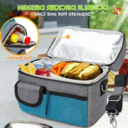 insulated lunch bag box cooler for men