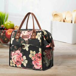 LOKASS Insulated Lunch Bag Cooler Adult Lunch Box Tote for W
