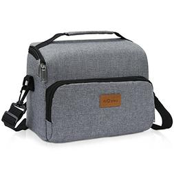 Lifewit Insulated Lunch Bag Lunch Box with Adjustable Should
