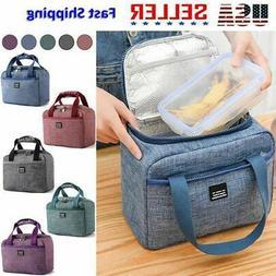 Insulated Lunch Bag for Adult Men Women Travel Children Kids