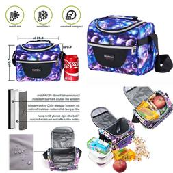 Insulated Lunch Bag For Kids Cooler Box Work School Boys Gir