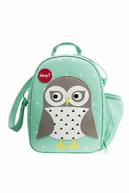 3 Sprouts Insulated Lunch Bag for Kids - Reusable Tote with