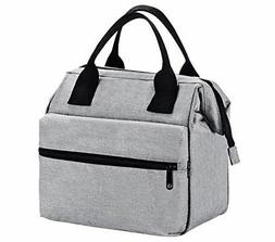 Insulated Lunch Bag for Men & Women Heavy Duty Oxford Nylon