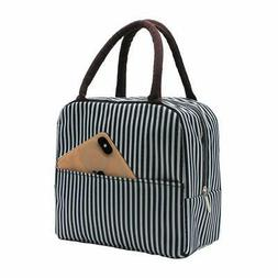 Mziart Insulated Lunch Bag for Women Men Reusable Lunch Tote