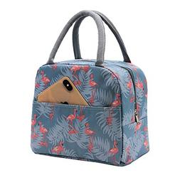 Mziart Insulated Lunch Bag for Women Men, Reusable Lunch Tot