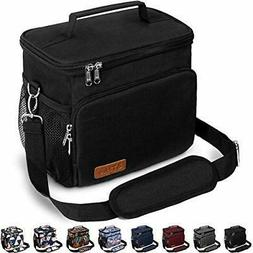 Insulated Lunch Bag for Women/Men - Reusable Lunch Box for O