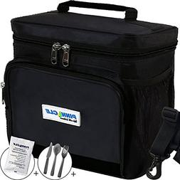 LUNCH BAG for Men, Women - Pinnacle Insulated Lunch Bag Lunc