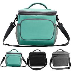 Insulated Lunch Bag Leakproof Thermal Bento Cooler Food Tote