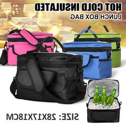 Insulated Lunch Bag Lunch Thermal Box for Work Office School