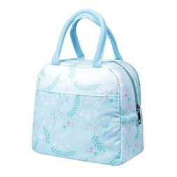 Insulated Lunch Bag Modern Portable Cooler Tote Bag Reusable