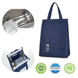 Insulated Lunch Bag Large Capacity Reusable Large Waterproof