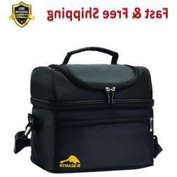 Insulated Lunch Bag Shoulder Strap for Men Women Kids Lunch