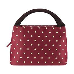 Philorn Insulated Lunch Bag Premium Sturdy Oxford Box Tote w
