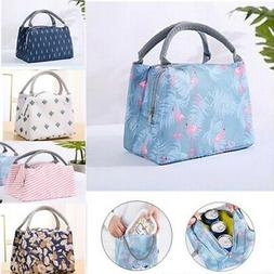 Insulated Lunch Bag Thermal Cooler Kids Women Picnic Food Bo