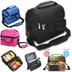Insulated Lunch Bag Thermos Cooler For Women Men Kids Adults