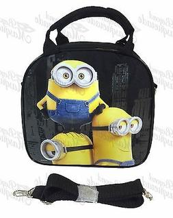 Minions Insulated Lunch Bag with Shoulder Strap + Color Penc