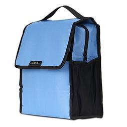 Insulated Lunch Bag, MoKo Reusable Foldable Lunch Box Collap