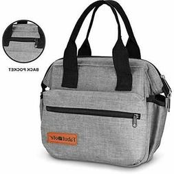 Insulated Lunch Bags For Women-Premium Quality With 2 Bottle