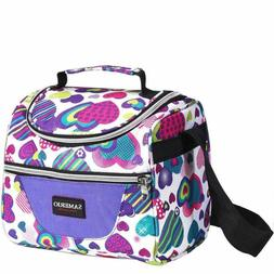 Insulated Lunch Box Organizer Cooler Bento Bags With Adjusta
