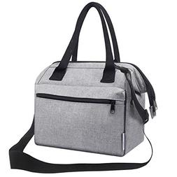 Insulated lunch Tote Bag Meal Prep Lunch Bag Cooler Bento Lu