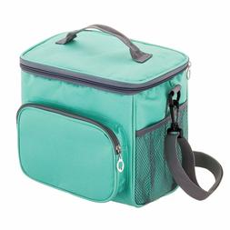 Insulated Meal Lunch Bag/Box for Men Women Kids w/Double Com