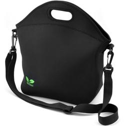 Neoprene Lunch Tote Washable Lunchbox Bag, Non-toxic Insulat