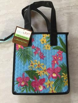 Tropical Paper Garden Insulated Reusable Small Gift Grocery