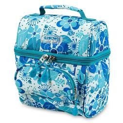J World New York Corey Lunch Bag, Blue Vine